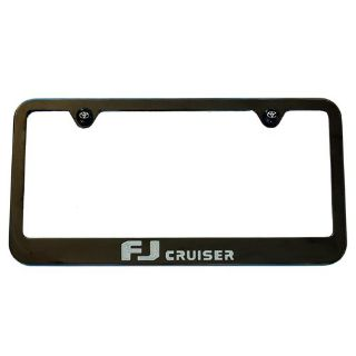 Sell Toyota FJ Cruiser License Plate Black Frame 2006 - 2013 motorcycle in Sacramento, California, US, for US $44.95