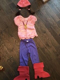 Disney Izzy from Jake and Neverland Pirates. Size 3