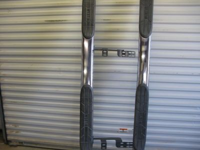 Stainless steel oval step bars