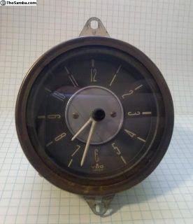 Early Bay VDO dash clock