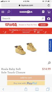 Look for soft bottom baby boy shoes size 2 or 3