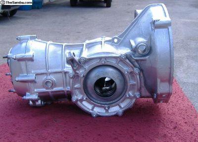 Rebuilt VW gearbox swing axle
