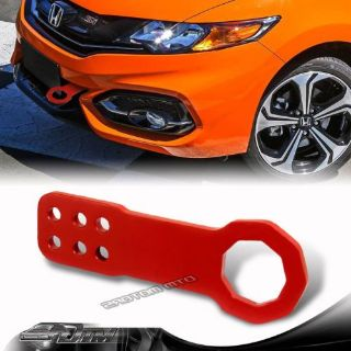 "Sell 2"" JDM Anodized CNC Billet Aluminum RED Front Bumper Racing Tow Hook For Ford motorcycle in Rowland Heights, California, United States"