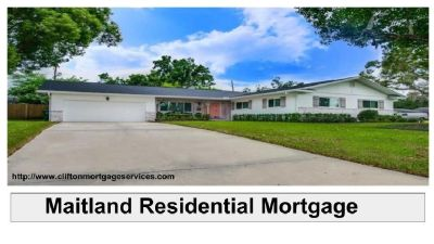 Are You Searching For Residential Mortgage In Maitland?