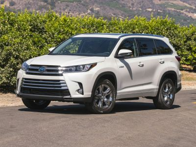 2019 Toyota Highlander Hybrid Limited (Shoreline Blue Pearl)