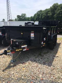 2019 Big Tex Trailers 10SR-12XLBK7SIR 83X12 DUMP TRAILER Dump Trailers Rome, GA
