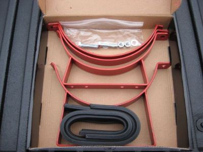 Sell NOS/NITROUS/NX/ZEX/EDELBROCK/HOLLEY/ 10/15LB RED STEEL HINGED BOTTLE BRACKET KIT motorcycle in North Attleboro, Massachusetts, United States, for US $12.99