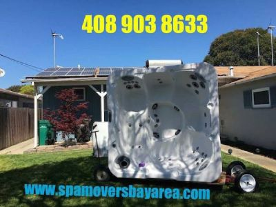 ☎ Lowest Rate Experts Spa | Hot Tub Movers 🚚 (Sf bay area)