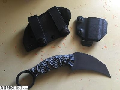 For Sale/Trade: Half Face Blade Karambito
