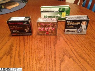 For Sale/Trade: 357 Sig ammo