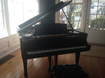 Steinway Grand A Like New- Signed by Van Cliburn