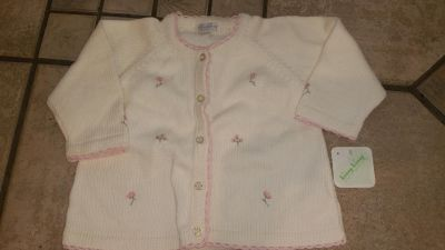 Sz 12-18 MO embroidered sweater w/tags