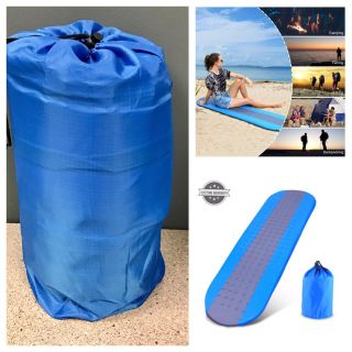 Self Inflating Sleeping Pad Outdoors with Patches and Carrying Bag Ideal for Camping Hiking Traveling HITC