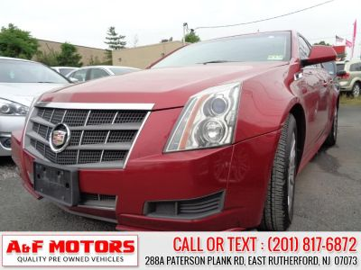2011 Cadillac CTS 3.0L Luxury (Red)