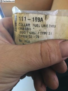 Collar Fuel line thru Chassis