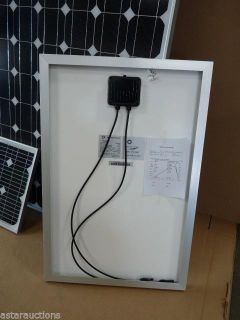 $150, 2 60W Sadoun Solar Mono-Crystalline Silicon Photovoltaic Panel Power PWM60W 12V