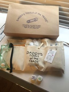 Daddy s Tools of the Trade Tool Belt. NWT. NIB. What s Wrong With The Baby? Dice.