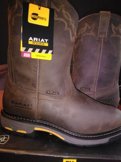 Ariat Men's WorkHog Pull-on H2O Boots