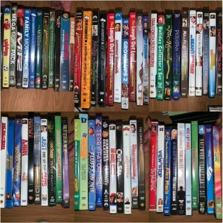 62 dvd lot 12 are new will not split