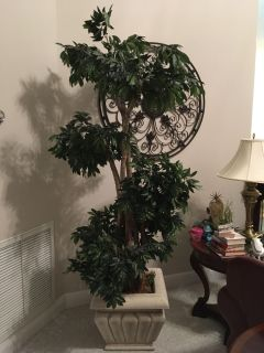 Artificial tree, about 6