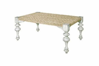 Coastal Chic - Woven Washed Coffee Table