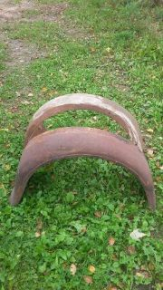Find 1928 29 Ford Model A Tudor Sedan Rear Fenders Original motorcycle in Park Falls, Wisconsin, United States