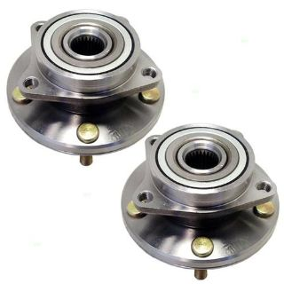 Buy New Pair Set Front Wheel Hub & Bearing Assembly Chrysler Dodge Eagle Mitsubishi motorcycle in Dallas, Texas, US, for US $60.17