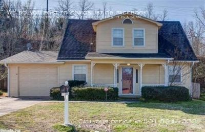 1604 W 55th St., North Little Rock, AR 72118 - Cozy and affordable 3br close to Camp Robinson