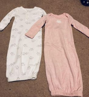 Carter s gowns - bunny s - NWT