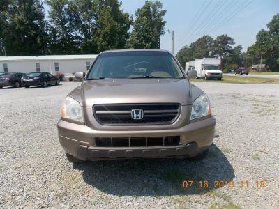 2005 Honda Pilot EX-L (Gold)