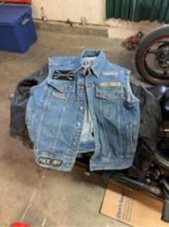 genuine Harley denim vest