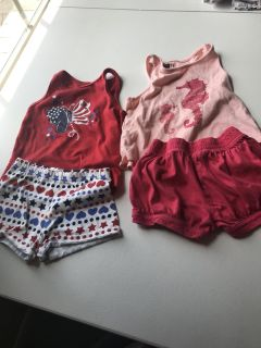 Size 2t outfits