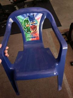 Toddler Sized PJ Masks Chair. Excellent Condition.