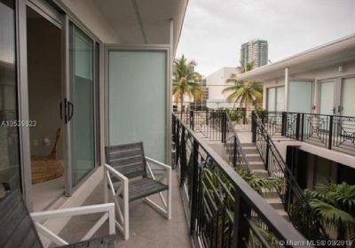 Miami Beach: 1/1.5 Furnished apartment (Park Ave., 33139)