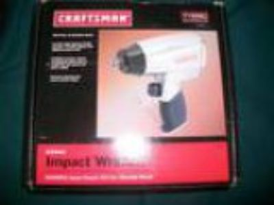Craftsman Impact Wrench quotAir quot