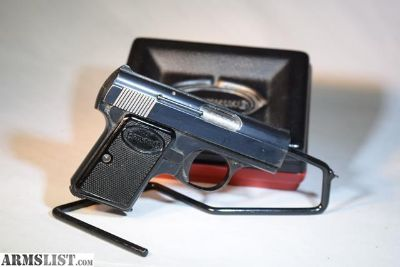 For Sale: Baby Browning Pistol 25 ACP Like new in Box
