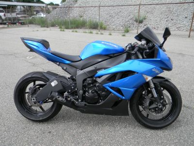 2009 Kawasaki Ninja ZX -6R SuperSport Motorcycles Springfield, MA