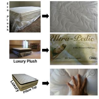 Twin Mattress + Boxspring *We Deliver, 3 Styles