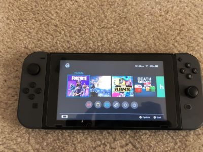 Mint condition Nintendo Switch