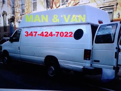 Low reasonable rate,  Mover with Van!  Small & Medium  move / pick up   347.424.7022