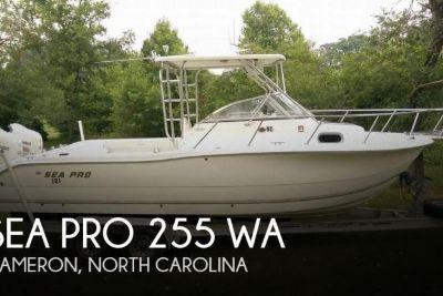 2005 Sea Pro 255 WA