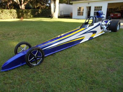2006 MULLIS 4 LINK DRAGSTER ROLLING CHASSIS