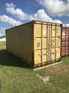8.5x20 Shipping Container / Conex Box