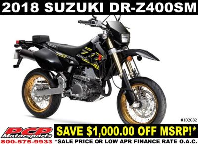 2018 Suzuki DR-Z400SM Supermoto Sacramento, CA