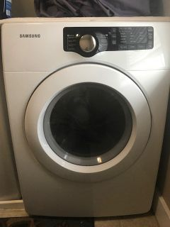 Samsung front load electric clothes dryer