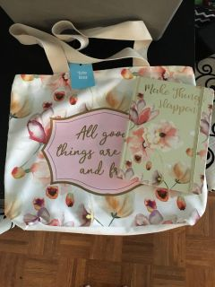 Giftable Tote Set with Journal