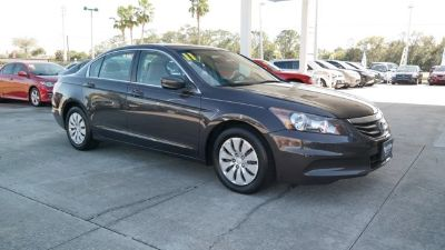 2011 Honda Accord LX (Dark Amber Metallic)