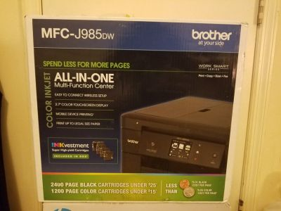 Brother MFC-J985 DW All-In-One Multi-Function Printer