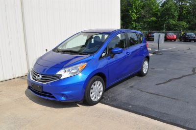 2015 Nissan Versa Note S (Blue)