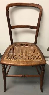 Antique Caned Seat Chair